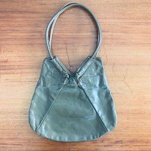 Handbags - Raw Edge Leather Bag